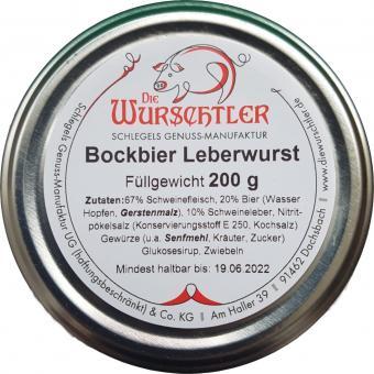 Die Wurschtler, Dachsbach  - Bockbierleberwurst