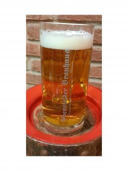 Schwanenbräu, Ebensfeld - Glaskrug 0,5 Liter