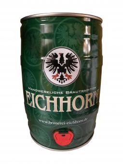 Brauerei Eichhorn, Dörfleins - 5 Liter Partyfass, schwarzer Adler