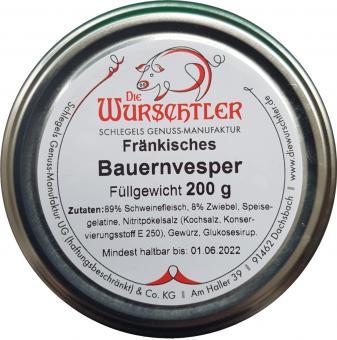 Die Wurschtler, Dachsbach  - Fränkisches Bauernvesper