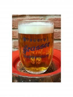 Brauerei Grasser, Huppendorf - Glaskrug 0,5 Liter