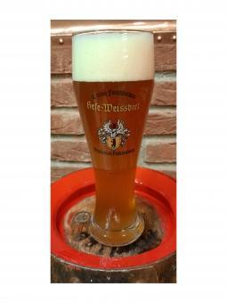 Brauerei Hebendanz, Forchheim, Weizenglas 0,5 Liter