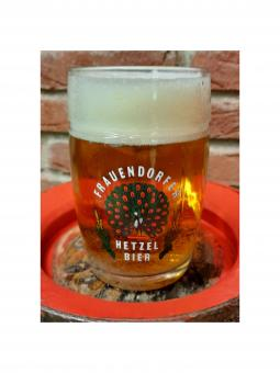 Brauerei Hetzel, Frauendorf - Glaskrug 0,5 Liter