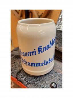 Brauerei Knoblach, Schammelsdorf - Steinkrug 0,5 Liter