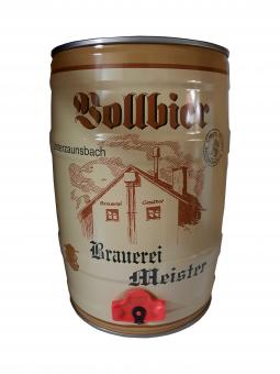 Brauerei Meister, Unterzaunsbach - 5 Liter Partyfass, Vollbier