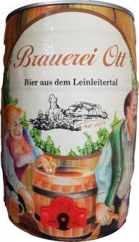 Brauerei Ott, Oberleinleiter - 5 Liter Partyfass, Export