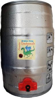 Brauerei Schübel, Stadtsteinach - 5 Liter Partyfass, Drachenseidla