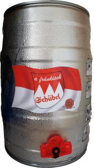 Brauerei Schübel, Stadtsteinach - 5 Liter Partyfass, Fränkisch
