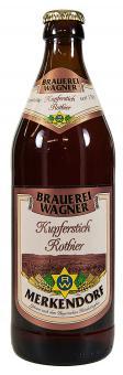 Brauerei Wagner, Merkendorf - Kupferstich Rotbier